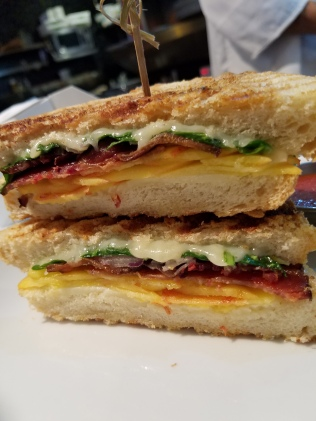 Peach-Bacon Panini