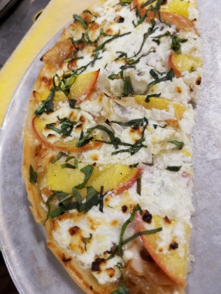 Za's Peach Pizza