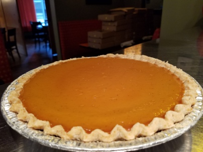 EVOO's Sweet Potato Pie